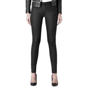 All Saints Coated Ashby Skinny Jeans